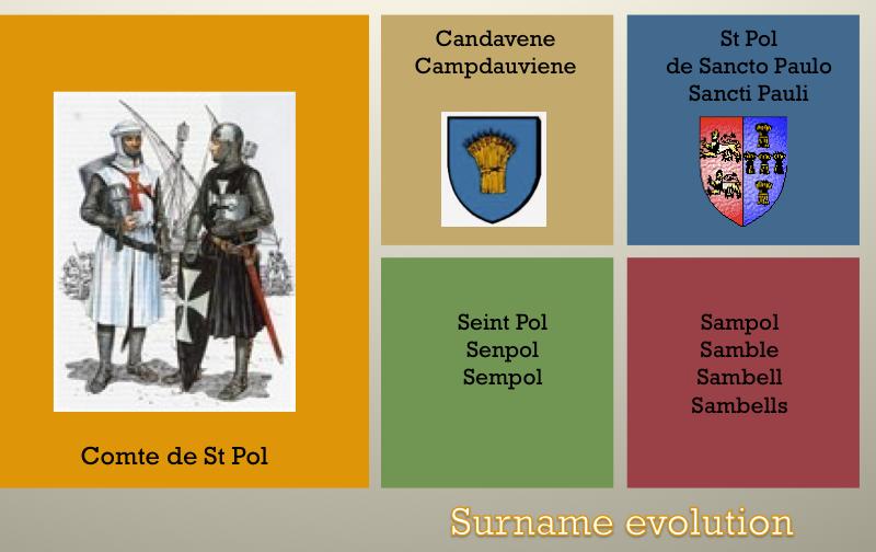 Surname evolution